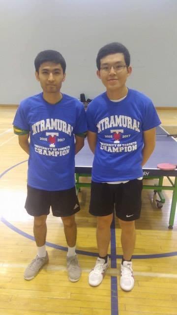 Winters Double Tournament 2017 Winners